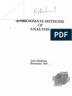 Approximate Methods of Analysis