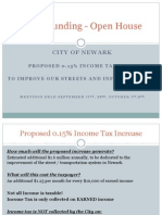 Street Levy Open House 9-11-2014