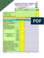 Acta de Evaluación Administrativa