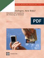 New Technologies, New Risks?
