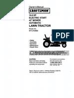 Craftsman 917.272065 Mower