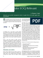 How to Make EOQ Relevant Again--Logistics & Supply Chain World July 2012