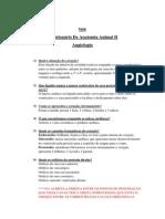 Questionário de Anatomia Animal II (1)