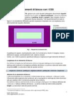 CSS-Gestione Elementi Di Blocco