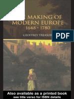 Making of Modern Europe 1648-1780