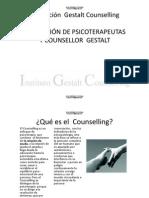 Formación de Terapeutas Gestalt y Counselling