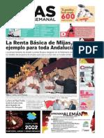 Mijas Semanal Nº600 Del 12 al 18 de septiembre de 2014