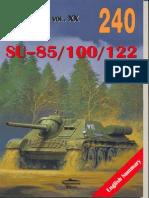 Militaria 240 - SU-85-100-122