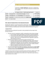 MGMT3004 Strategic Audit Project Instructions F2014 PDF