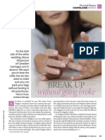 breaking up without going broke - chatelaine - oct 2009