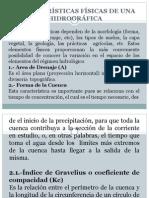 Caracteristicas Físicas de La Cuenca