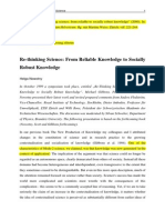 Re-Thinking Science (Nowotny)