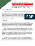 1 and 2 Hr Wall Assemblies