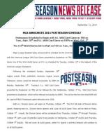 MLB Announces 2014 Postseason Schedule_091114.PDF
