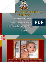 Tippens Fisica 7e Diapositivas 16 -Temperatura Y Dilatacion