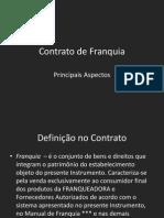 Exemplo Contrato de Franquia - Aula
