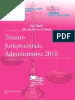 Tesauro Jurisprudencia Administrativo 2010 (1)