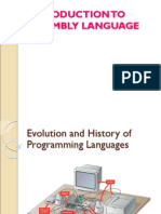 Lecture on Introduction to Assembly Language