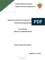 Apuntes de Fundamentos de Economia 2008