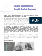 Condensation and Mould Growth