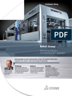 Bobst Group Flyer English