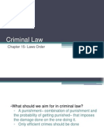 Criminal Law- Friedman Chapter 15