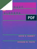 Dummit & Foote's Algebra