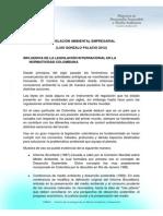Legislacion Ambiental Colombiana