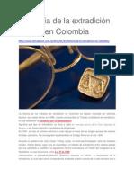 Historia de La Extradición en Colombia