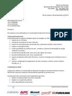 RFQ117D - Organização de Datacenter