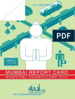 Mumbai Councillors Report Card 2014 LR