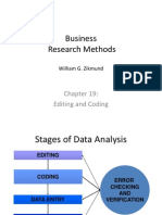 Module 8 Editing & Coding of Data