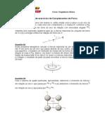 2º Lista de Exercícios de Complementos de Física Pronto