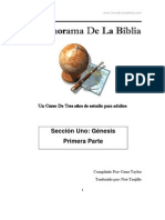 Un Panorama de La Biblia (Seccion Uno).
