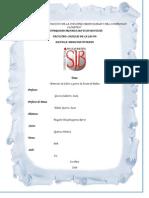informe 13 quimica