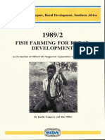 19892 Fish Farming for Rural Development an Evaluation of Sida Fao Supported Aquaculture in Southern Africa 3569
