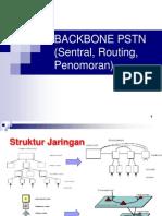 3. Jaringan Backbone, Pola Routing Dan Penomoran PSTN