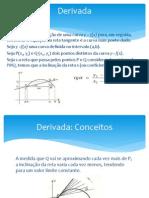 Derivada - Matemática