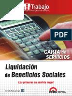 Liquidacion de Beneficios Sociales Mintra PDF