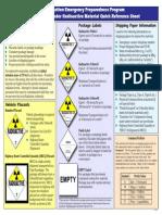 Emergency Responder Fact Sheet - Transportation