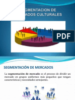 Segmentación de Mercados Culturales