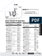 Dorman Exhaust Manifolds Applications