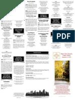 September 14, 2014 Worship Folder