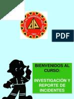 Curso Investigacion y Reporte de Incidentes -Cip Piura