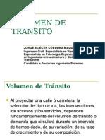 Volumen de Transito