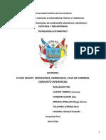 Tec. Automotriz - II Fase Senati - Seccion a - Grupo 2