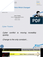 Eight Conflicts Cyber Conflicts