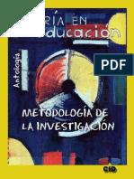 Antologia-metodologia de La Investigacion 2009