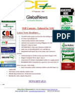 11th September,2014 Daily Global Rice E-Newsletter by Riceplus Magazine