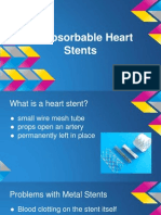 bioabsorbable heart stent